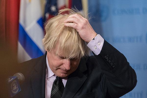 Борис Джонсон отложил визит в столицу России