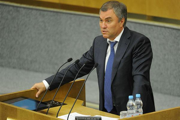 Володин исключил возможность военного столкновения РФ иСША вСирии