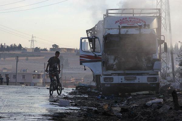При авиаударе погумконвою ООН погибли 20 мирных граждан