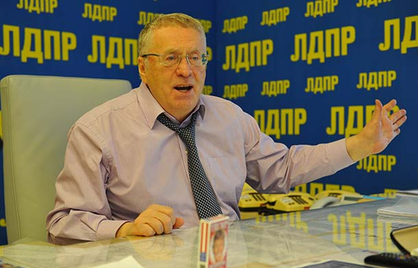 Жириновский будет участвовать ввыборах президента