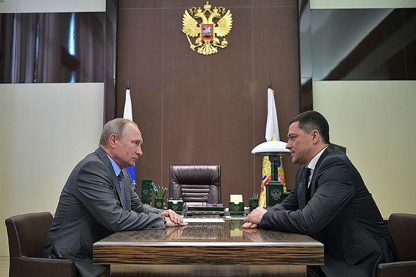 Руководитель  Псковской области Турчак ушел вотставку