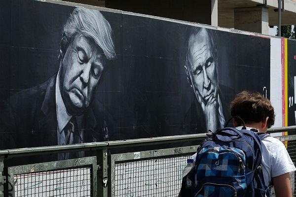СМИ назвали темы переговоров В.Путина иТрампа