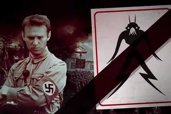 Всети интернет появилось видео сНавальным вобразе Гитлера
