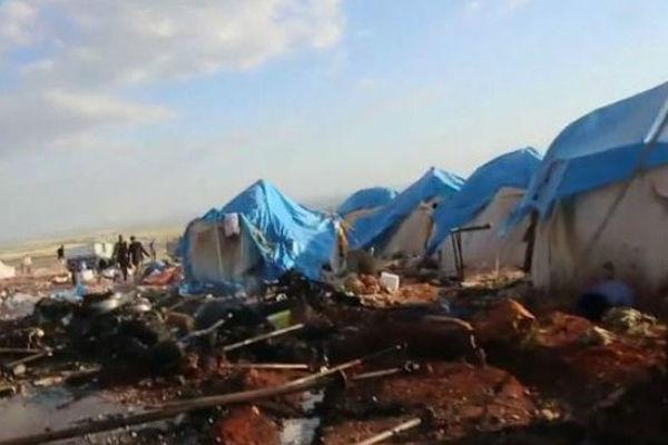 В итоге авиаудара насевере Сирии погибли как минимум 30 мирных граждан