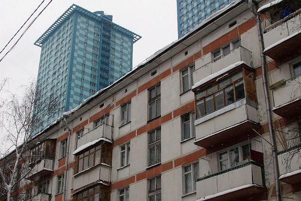 В столице России взлетели продажи квартир вхрущевках, которые пойдут под снос