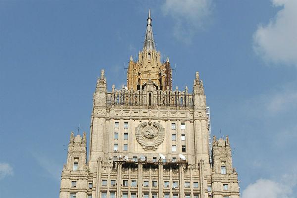 МИД пояснил россиянам, что нестоит говорить иделать заграницей