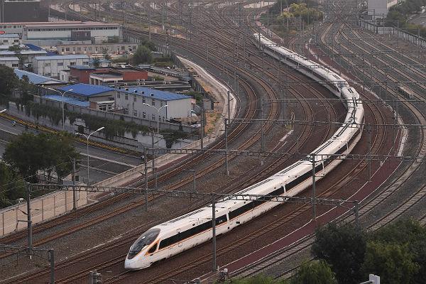 В КНР запустили самые быстрые поезда вмире