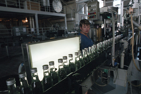 Производство водки в РФ в прошлом году выросло на16,1%