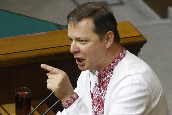 Олег Ляшко сказал, почему подал всуд наПетра Порошенко