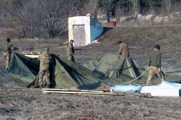 ВХарьковской области здешние граждане недопустили блокаду железной дороги