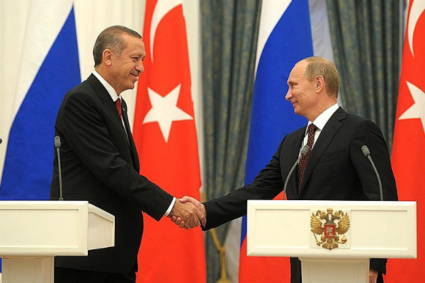 Запад встревожен встречей В. Путина иЭрдогана