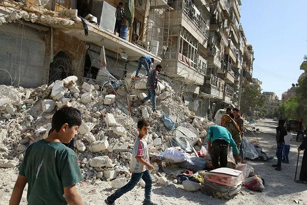 СоветЕС: Обстрелы Алеппо могут приравнять квоенным преступлениям