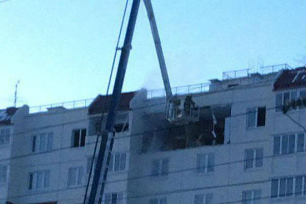 Обрушенный из-за взрыва газа дом вОмске обследуют за4