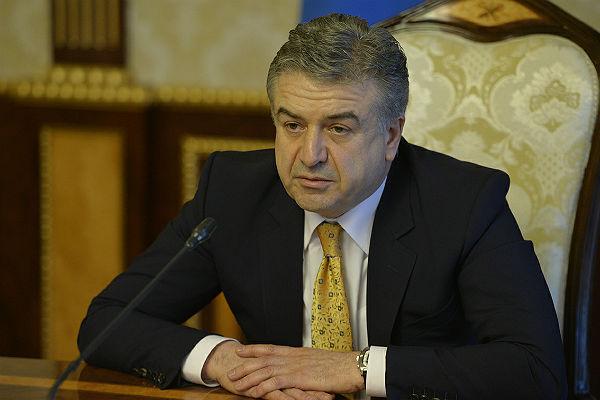 И. о. премьера Армении отказался отпереговоров слидером оппозиции