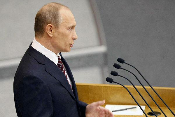 Сила РФ вединстве нашего народа— Путин