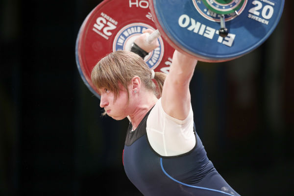 Сборная России заняла второе место в общекомандном зачете на ЧМ по тяжелой атлетике