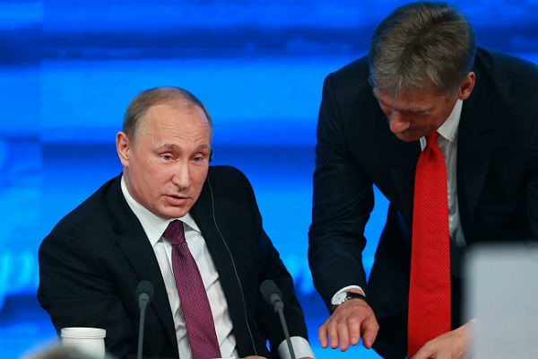 Песков: Большинство голосовавших навыборах граждан России де-факто высказались вподдержку Владимира Путина