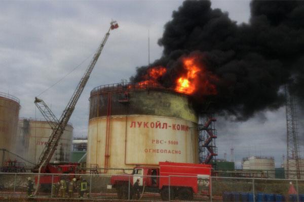 В России произошел взрыв на «Лукойле»