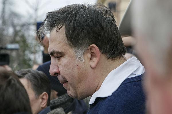 Прокуратура Украины желает привлечь Саакашвили кответу занарушение 3-х статейУК