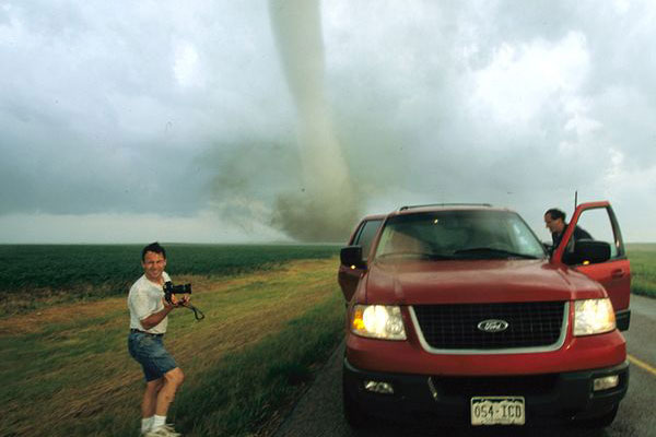 chasing tornadoes