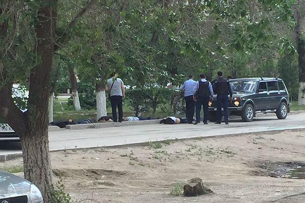 Силовики Казахстана устранили вАктобе 5 боевиков