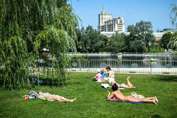 «Нормальный» июль начнётся в столице России соследующей недели— Синоптики
