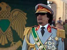 Лидер Ливии Кадафи обещает США море крови, тысячи жертв
