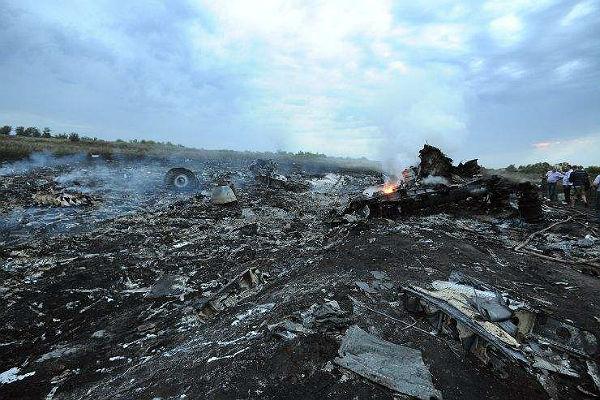 Следователи пока необвинилиРФ вкрушении Boeing над Украинским государством