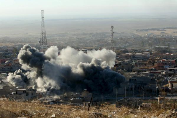 МинобороныРФ: террористы врайоне спасения пилота Су