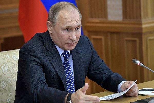 Путин объявил, что РФ пока небудет отвечать на«кремлёвский доклад» США
