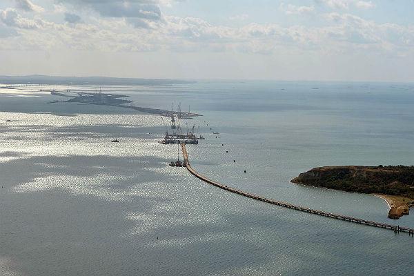 Подписан договор остроительстве железнодорожных подходов кКерченскому мосту