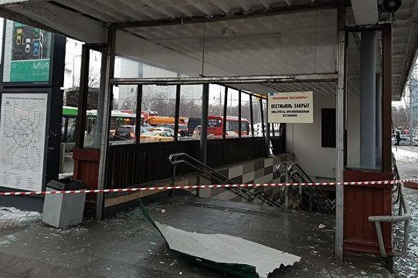 Появилось видео взрыва вметро столицы, врезультате которого пострадали шесть человек