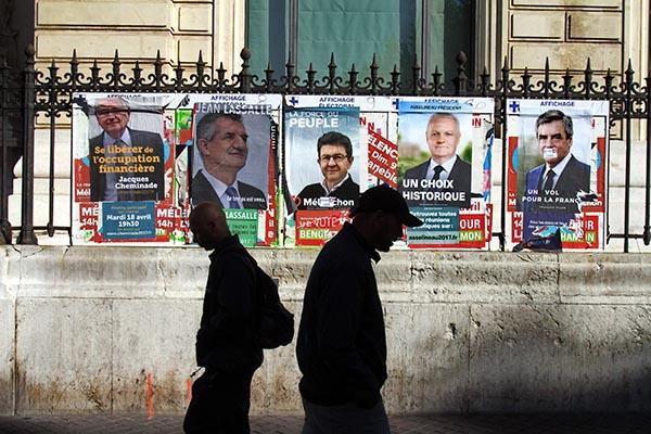 Назаморских территориях Франции началось голосование напрезидентских выборах