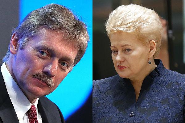 Песков опроверг заявления президента Литвы о«списке требований» Владимира Путина