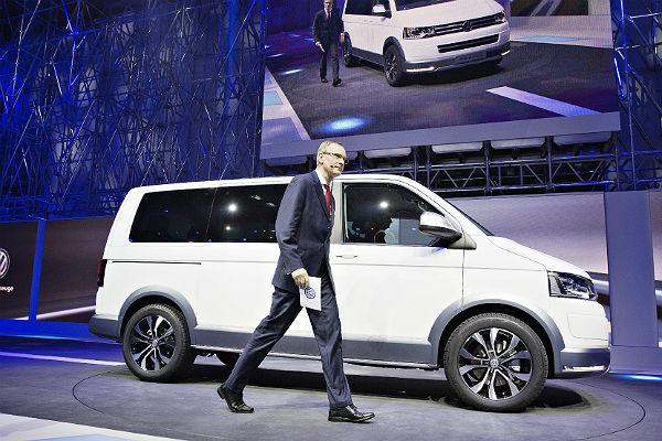 Производство коммерческих автомашин серии T6 концерна Volkswagen открылось в России