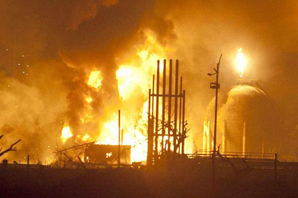 Впожаре наНПЗ вНижегородской области погибли 4 человека