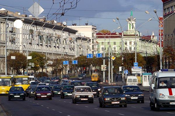 ВМинске проходит оппозиционный «Марш рассерженных белорусов 2.0»