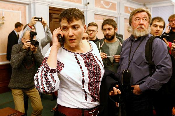 Савченко опоездке вРФ: Явернулась изада живой, снова