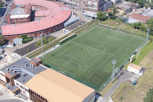 Собянин: В нынешнем 2017г. в столице России построят 5 футбольных полей