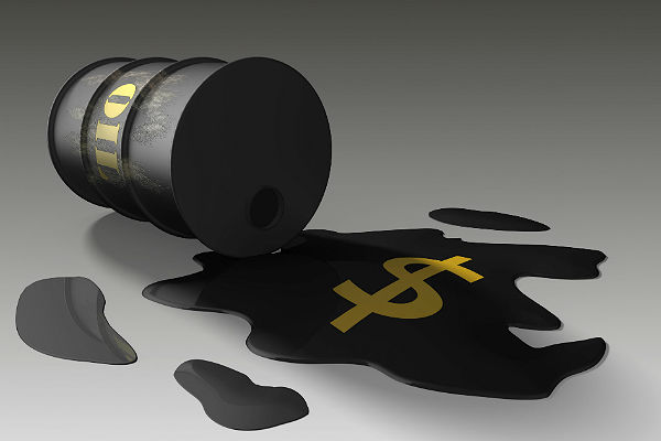 Нефть выросла вцене на данных о уменьшении числа буровых установок вСША