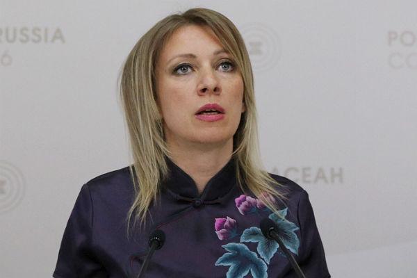 Марии Захаровой «дали порулить»