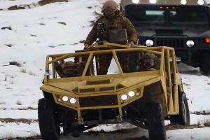 «Мишень для снайперов»: новый автомобиль нацгвардии Украины высмеяли в Сети