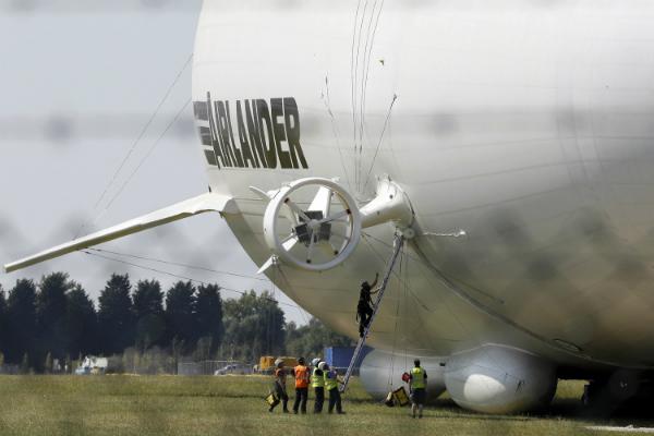 Размещено видео тренировочного полёта самого огромного самолёта вмире