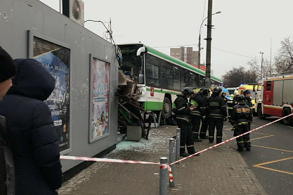 МЧС: погибших при ДТП савтобусом уметро «Сходненская» нет