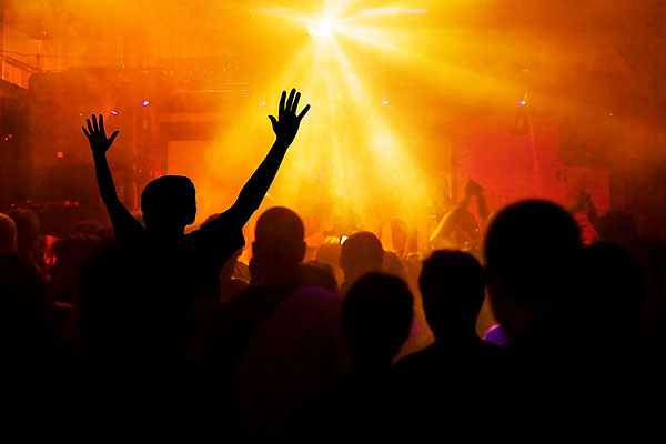 contemporary worship gestures
