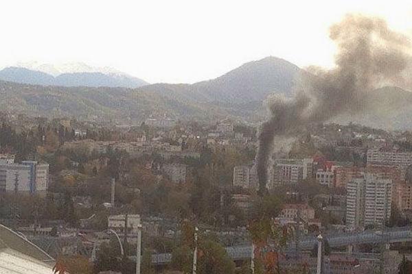 Число пострадавших впожаре вСочи возросло до23 человек
