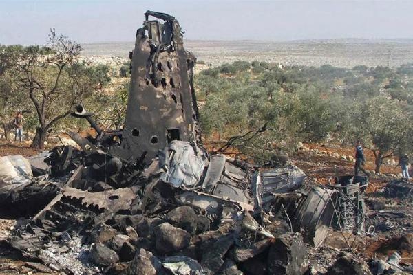 фото сбитого су-24