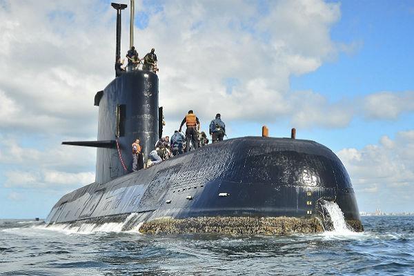 Врайоне исчезновения аргентинской подлодки «Сан-Хуан» раздался взрыв