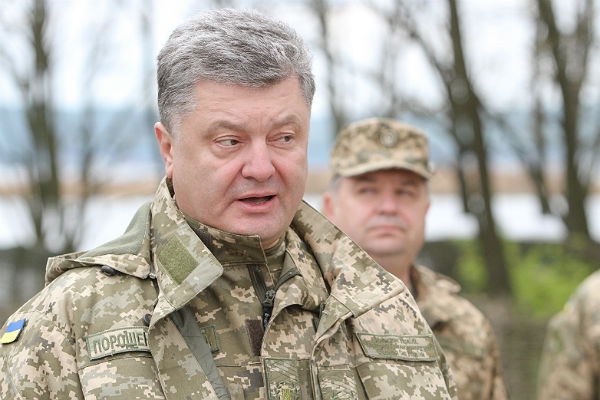 РФ грозит Украине полномасштабной войной— Порошенко