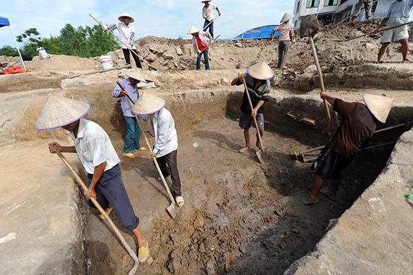 В КНР археологи обнаружили стены цитадели XIII века